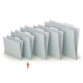 【ファイル用品】イトーキ 上見出し個別フォルダー A4用/グレー【50枚セット】