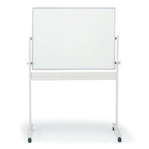 ホワイトボード 回転型 白板 イトーキ (両面ホワイト) 外寸:W134×H180cm/板面:W120×H90cm【自社便/開梱・設置付】