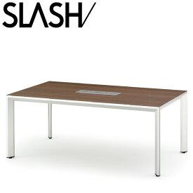 イトーキ SLASH スラッシュテーブル 角テーブル(配線仕様) W200×D100【自社便/開梱・設置付】