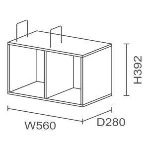 JVCケンウッドニューワークスタジオ専用オプション/インナーシェルフDD-S470