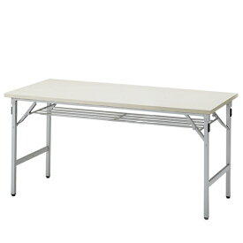 イトーキ 折りたたみテーブルTGシリーズ 棚付きタイプ/W150×D60cm 【自社便/開梱・設置付】