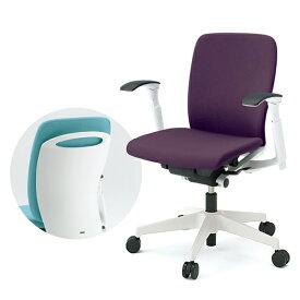 事務椅子 ITOKI(イトーキ) フルゴチェア fulgo ローバック 布張り 可動肘