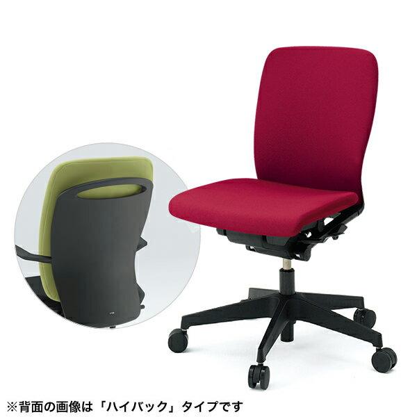 事務椅子/ ITOKI(イトーキ) フルゴチェア fulgo ローバック 布張り 肘なし