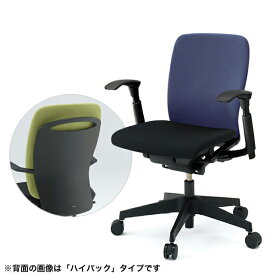 【2/25限定 楽天カードでP14倍↑】事務椅子/ ITOKI(イトーキ) フルゴチェア fulgo ローバック 布張り コンビカラー 可動肘