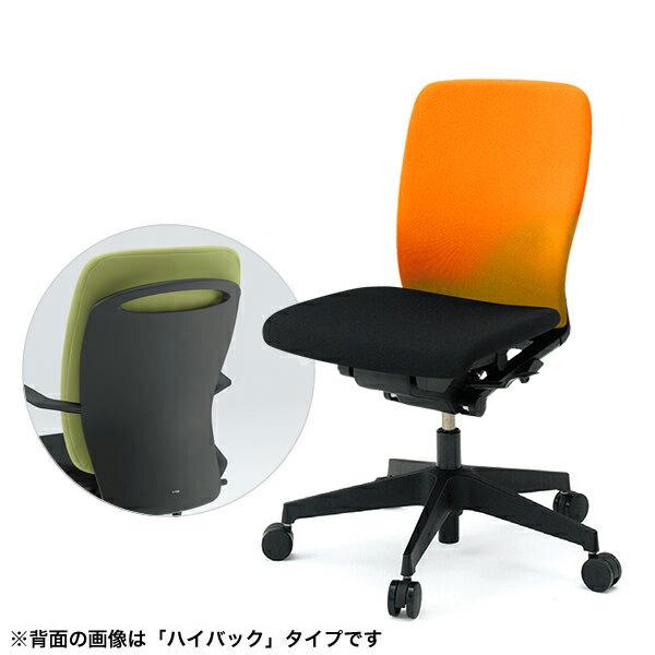 事務椅子/ ITOKI(イトーキ) フルゴチェア fulgo ローバック 布張り コンビカラー 肘なし