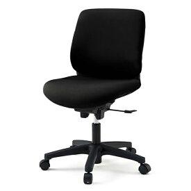 オフィスチェア イトーキ トルテRチェア ローバック 布張り (GB張地) 肘なし 樹脂脚