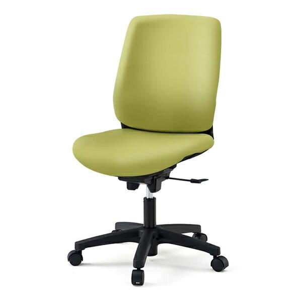 オフィスチェア/ イトーキ トルテRチェア ハイバック ビニールレザー張り(DL張地)//肘なし/樹脂脚