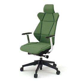 事務椅子 イトーキ フリップフラップ チェア flip flap エクストラハイバック 固定肘付 ランバーサポートなし ハンガーなし 樹脂脚 【自社便 開梱・設置付】