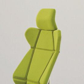 ヘッドサポートユニット ヘッドレスト のみ イトーキ フリップフラップチェア 専用オプション パーツ 【自社便 開梱・設置付】