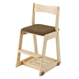 木製チェア/KM26-73SB/布張り/ソイナチュラル・スモークブラウン