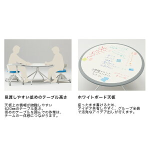 スクラムシリーズ/テーブル/円形タイプ