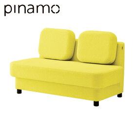 クリエイティブワーク家具 イトーキ ピナモ オフィス用 ソファ 2人掛 2シーター ローバック