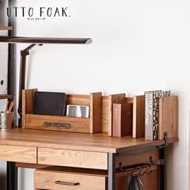 棚 小棚 デスク用 USBポート付 木製 天然木 イトーキ ウットフォーク ITOKI utto foak シリーズ UF-K-0VB