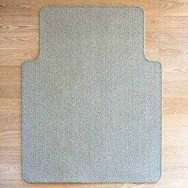 チェアカーペット チェアマット イトーキ オリジナル スミノエ FM-4U-LG マット カーペット ITOKI 敷き物 テレワーク 日本製 国産 ウール100%