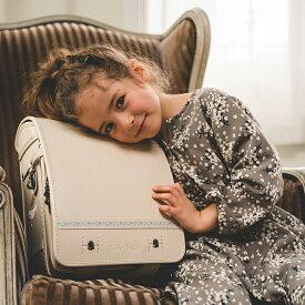 ランドセル Jolie Fille Chic(ジョリフィーユ シック) 2021年 モデル 女の子 クノーク QNORQ 背カン フィットちゃん クラリーノ 6年保証 日本製 イトーキ 刺繍 ししゅう A4 フラットファイル かわいい シンプル 花柄 ガーリー ラン活
