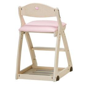 椅子 いす イス チェア 学習椅子 学習イス 勉強イス 勉強椅子 木製 ソフト レザー 張り 座面ピンク イトーキ ITOKI JM32-7NWPX 木製チェア 学習チェア デスクチェア