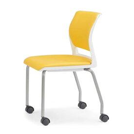 アイコ ミーティングチェア 会議用イス 椅子 会議チェア 肘なし キャスター脚 MC-255