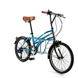 自転車 20インチ ミニベロ ドッペルギャンガーROADYACHTロードヨット アマルフィ 7段変速機 DOPPELGANGER 330-N-BL