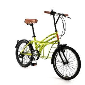 自転車 20インチ ミニベロ ドッペルギャンガーROADYACHTロードヨット クレーヴェン 7段変速機 DOPPELGANGER 330-N-GR