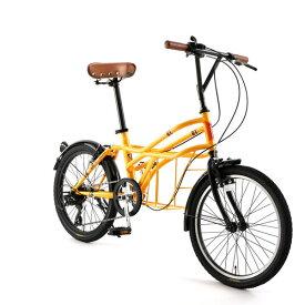 自転車 20インチ ミニベロ ドッペルギャンガーROADYACHTロードヨット リスボア 7段変速機 DOPPELGANGER 330-N-YL