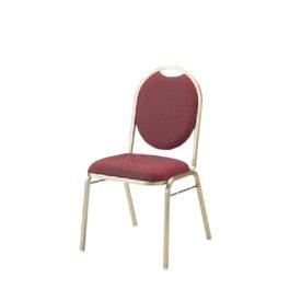 イトーキ 宴会 結婚式 パーティ 椅子 ダース スタッキング ゴールド塗装 布張り KBT-220GA