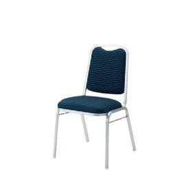 イトーキ 宴会 結婚式 パーティ 椅子 ダース スタッキング シルバー塗装 布張り KBT-240SA