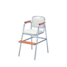 イトーキ 宴会 結婚式 パーティ 椅子 ダース スタッキング不可 子供用チェア シルバー塗装 ビニールレザー KBT-250SB