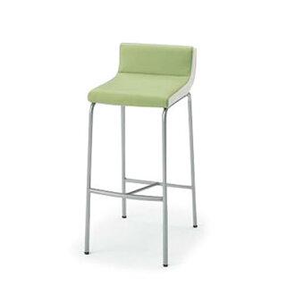 ITOKI meeting chair ミーティングチェアーベジーナハイチェアシルバーメタリック painting leg KJS-613D-Z5