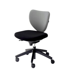 内田洋行 オフィスチェア 事務椅子 エポ EPOチェア ローバック 肘なし 座面ブラック EF2-200(205)