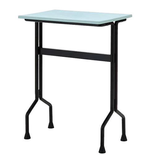 プラスチック天板パーソナルテーブル ワークテーブルタイプ 固定脚 TT-W15G