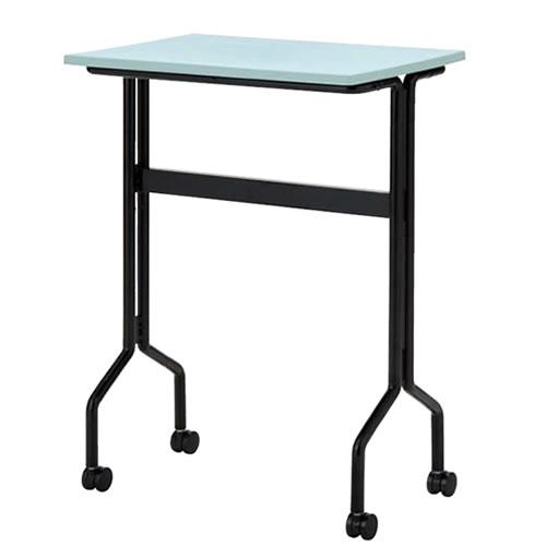 プラスチック天板パーソナルテーブル ワークテーブルタイプ キャスター脚 TT-W15K