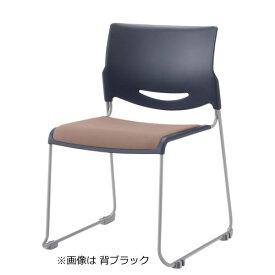 内田洋行ミーティングチェア ループ脚 肘なし ビニールレザー張りMP-111