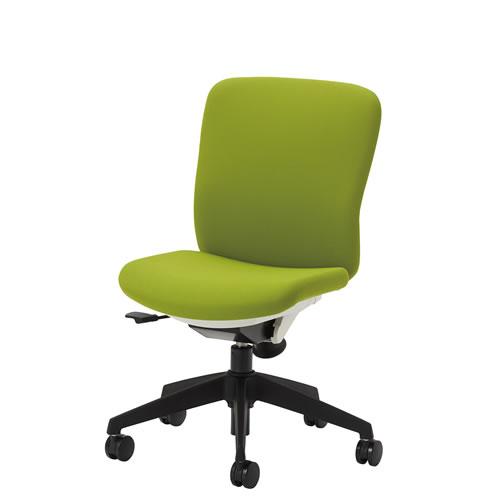 オフィスチェアー オフィスチェア 椅子 QRチェア 肘なし ミドルバック 布張り QRS-30