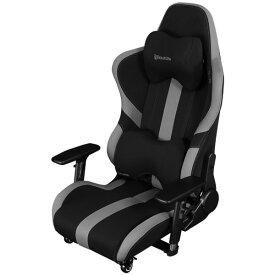 バウヒュッテ ゲーミング座椅子 GAMING FLOOR CHAIR ブラック Bauhutte BE-LOC-950RR-BK