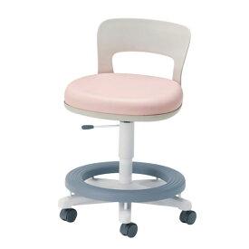 スーパーSALE期間中ポイント10倍 学習椅子 学習用チェア ステップ付き ビニールレザー張り CAW型 CAW-20HLST