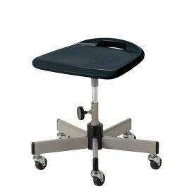 作業用チェア 作業椅子 作業用椅子 作業スツール 把手付ブロー座 手動上下調節 キャスター付き HBS-W12