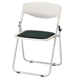 折りたたみ椅子 会議用チェア 座ウレタン ビニールレザー張りTMO-45