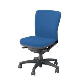 ナイキ オフィスチェアー オフィスチェア 椅子 フィーモ チェアー ローバック 肘なし 布張り 樹脂脚 ME-510F