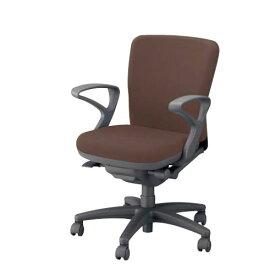 ナイキ オフィスチェアー オフィスチェア 椅子 フィーモ チェアー ローバック 肘付 布張り 樹脂脚 ME-511F