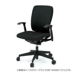 イトーキ フルゴ オフィスチェア ハイバック 本体カラー WWホワイト アジャスタブル肘付 布張りKF-437GBWW