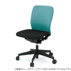 イトーキ フルゴ オフィスチェア ローバック 本体カラー WWホワイト 肘なし 布張りKF-440GBWW