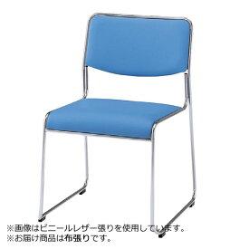パイプ椅子肘なし布張りNORL-615CN