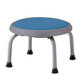 低床 作業椅子 低作業用チェア 低い作業用スツール 丸いす 座回転式 キャスター無し R-T770C