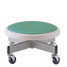 低床 作業椅子 低作業用チェア 低い作業用チェアー 椅子 H205ミリ キャスター付き NOTAC-36H-205