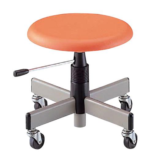 低作業用チェアー 作業用チェア 作業椅子 作業用椅子 ブロー成型樹脂座NOTAC-H33