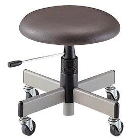 低床 作業椅子 低作業用チェア 低い作業用チェアー 椅子 キャスター付き NOTAC-H33L