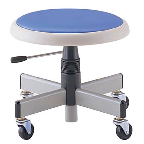 低作業用チェアー 作業用チェア 作業椅子 作業用椅子 ブロー成型パッド付座NOTAC-H36L