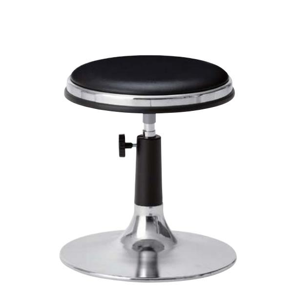 作業用チェア 作業椅子 作業用椅子 メッキ円盤脚タイプNOTD-13