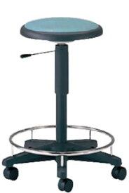 病院 診察イス 患者椅子 メディカル チェア 椅子 背なし リング付 キャスター付き NOTD-20KR