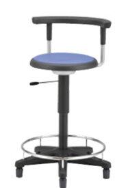 病院 診察イス 患者椅子 メディカル チェア 背付 リング付 固定脚 椅子 キャスターなし NOTD-22RRN